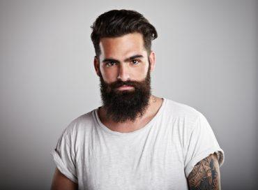 Vårdat skägg